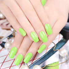 nail art green colour glamour nail salon notd ikat nail design