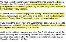 best place to buy xbox one on black friday ps4 top selling console in november in the us system wars