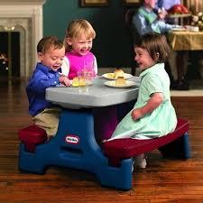 little tikes easy store jr picnic table endless adventures easy store jr play table by little tikes