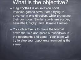 Similar Flags What Is The Objective Flag Football Is An Invasion Sport