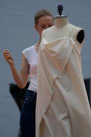 Draping On A Dress Form Draping Demonstration Final Fashion