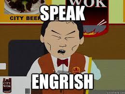 South Park Funny Memes - speak engrish south park city wok quickmeme