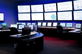 room control room operator power plant modern rooms colorful