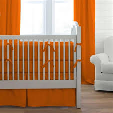 Orange Crib Bedding Sets Orange Crib Bedding Sets Mandarin Damask And Aqua 4 Pc Set Baby