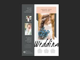wedding poster template wedding photographer poster template v3 brandpacks