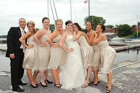 champagne colored dresses for bridesmaids vosoi com