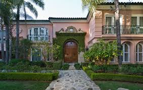private gated celebrity estate of christina aguilera beverly