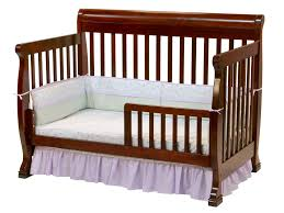 Baby Crib Convertible To Toddler Bed Davinci Kalani 4 In 1 Convertible Baby Crib In Cherry W Toddler