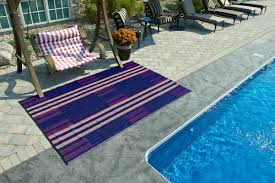 Red Outdoor Rug by B B Begonia Brick Lane Reversible Design Blue Red Outdoor Area Rug
