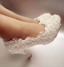 wedding shoes size 12 white pearl lace wedding shoes 2018 woman shoes