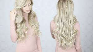 how to get loose curls medium length layers how to curl your hair with a wand hair tutorial perfect for long