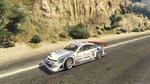 opel calibra touring car calibra dtm add on replace livery для gta 5