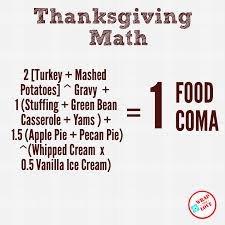 Thanksgiving Math Thanksgiving Math Numbers Good Enough To Eat Wrap With Love