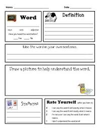134 best teaching vocabulary images on pinterest teaching
