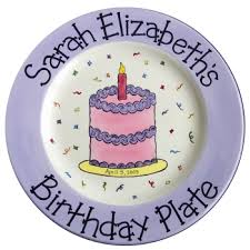 personalized cake plate 10 birthday cake plate cottage personalized gifts