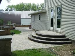 Step Design by Paver Patio Stairs With Landing Google Search Porch Steps