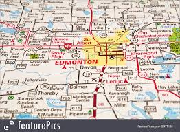 Map Of Edmonton Canada by Picture Of Edmonton City Map