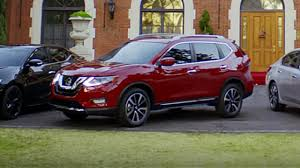 nissan rogue 2017 2017 nissan rogue caught in commerical motor1 com photos