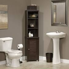 bathroom vanity with linen tower linen cabinets towers you ll love wayfair