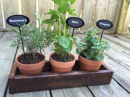 herb garden as a housewarming gift a purdy little house