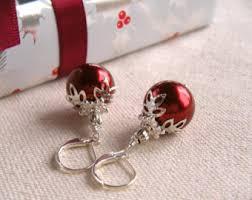 christmas earrings earrings etsy