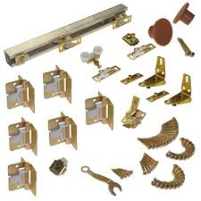 Exterior Folding Door Hardware Johnson Hardware 111fd Series 60 In Track And Hardware Set For 4