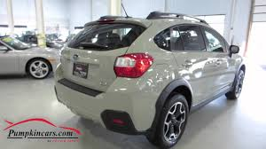 subaru crosstrek interior leather 2015 subaru xv crosstrek limited youtube