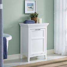Bathroom Cabinet With Laundry Bin by Wood Laundry Hamper Bathroom Storage Cabinet Clothes Basket