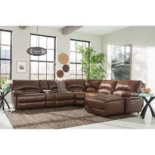 Curved Sectional Sofa With Recliner by Leather Recliner Sectional Sofas 53 With Leather Recliner