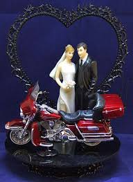 harley davidson wedding cake topper 10 for him on his day