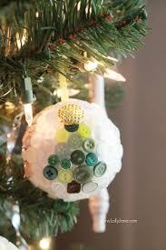 diy button ornaments