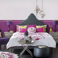 bedroom awesome moroccan bedroom design ideas with grey plain