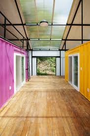 low cost house in a house made of 2 shipping containers urbanist