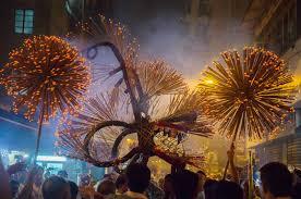 dragon fire pit watch hong kong u0027s dazzling fire dragon dance