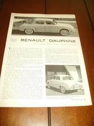 1959 renault dauphine 1959 renault dauphine original article road test 8 24
