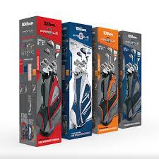 men set wilson profile xd men s complete golf club set wilson sporting goods