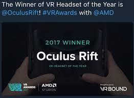 winners for vr awards 2017 arthands vr