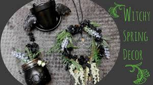 Diy Witchy Spring Home Decor Ghostly Haunts Youtube