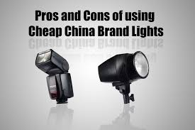 the pros and cons of using cheap china brand lights diy photography