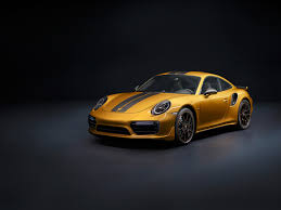 yellow porsche 911 this ultra exclusive special edition porsche 911 turbo s is a 205