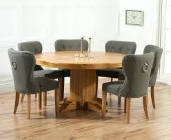 solid oak round dining table 6 chairs grey dining table and 6 chairs grey chairs buy mark solid oak round