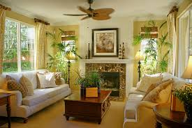 themed living room tropical themed living room decoration