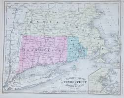 map of ma and ri map of massachusetts connecticut ri 1865