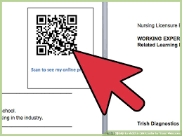 reference resume minimalist background cing 4 ways to add a qr code to your resume wikihow