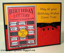 halloween scratch off tickets ink n u0027 scrap habits birthday lottery ticket