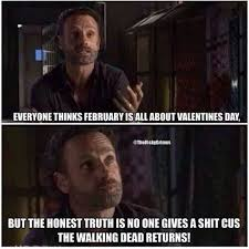 Walking Dead Valentine Meme - 474 best walking dead images on pinterest the walking dead