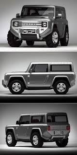 land rover defender 2020 2020 ford bronco concept combines old with new classic round
