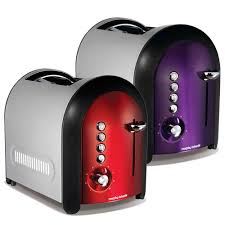 Plum Toaster Morphy Richards Accents Meno 2 Slice Toaster Disc Electricals