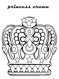 Princess Crown Coloring Pages Page Template Category 1 Tiaras And Princess Crown Coloring Page Free Coloring Sheets