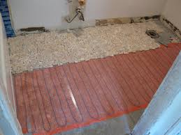 heated floors in bathroom home design